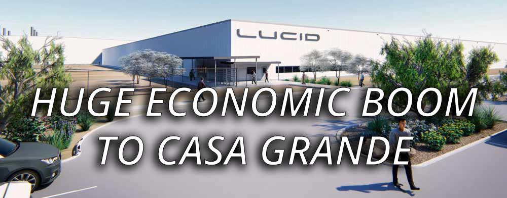 RW Auto Glass Welcomes Lucid Motors to the City of Casa Grande